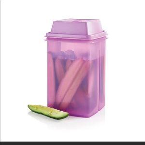 Tupperware Pick-A-Deli Container Purple Pickle